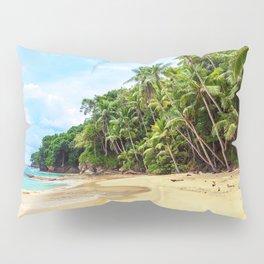Tropical Beach - Landscape Nature Photography Pillow Sham