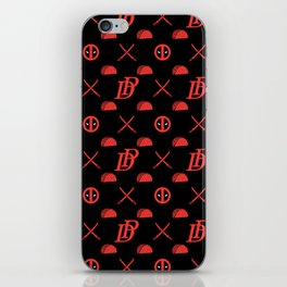 DP pattern iPhone Skin