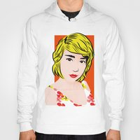 popart Hoodies featuring popart  by Biansa Naiyananont