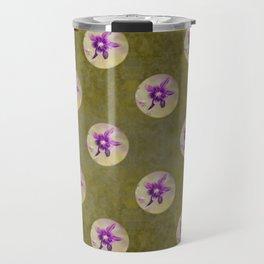 Columbine flower Travel Mug