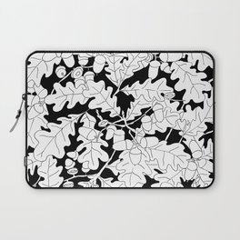 Composition of Oak Leaves and Acorns Laptop Sleeve