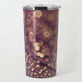 gold leaf Travel Mug