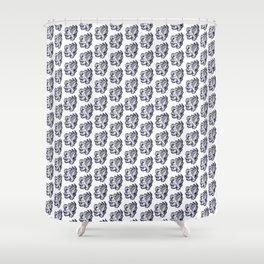 Grey Warden Griffin Pattern Shower Curtain