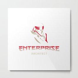 Enterprise Architect guru Metal Print
