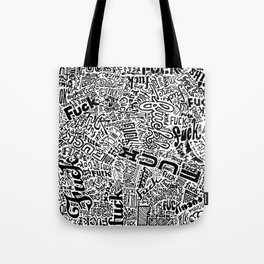 LOOK AT ALL THE FUCKS YOU DO NOT GIVE Tote Bag