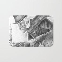 Mr. Scrooge Bath Mat