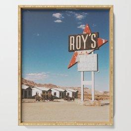Roy's Motel Serving Tray