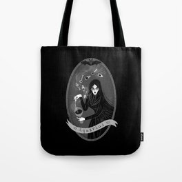 Aquarius Witchy Zodiac Tote Bag