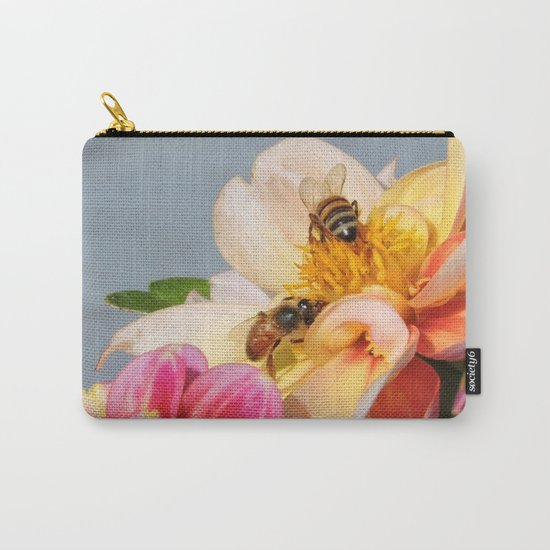 Honeybees at Work Carry-All Pouch