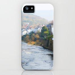 River Dee iPhone Case