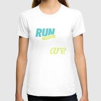 dota T-shirts featuring Run Like Dogs by DotaZone Store