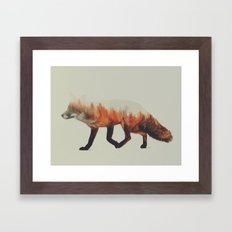 Norwegian Woods: The Fox Framed Art Print