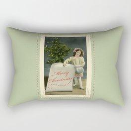 To My Angel Rectangular Pillow