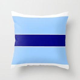 Horizontal stripes 5 Throw Pillow