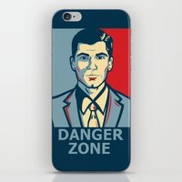 archer iPhone & iPod Skins featuring Archer by Mental Activity