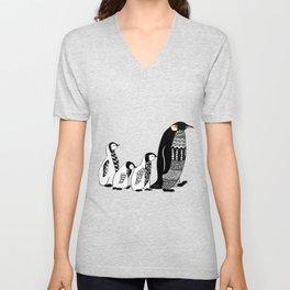 Penguins Unisex V-Neck