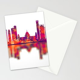 Kolkata West Bengal Skyline Stationery Cards