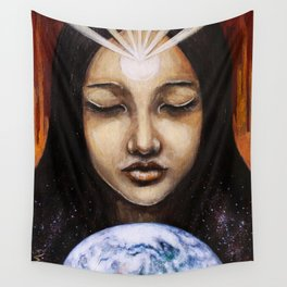 Shine Your Light for the World to See Wall Tapestry