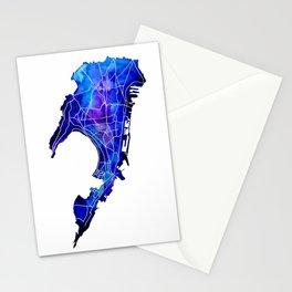 Mumbai watercolor Stationery Cards