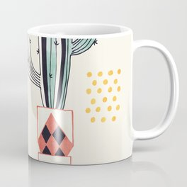 Cactus in a Pot Coffee Mug