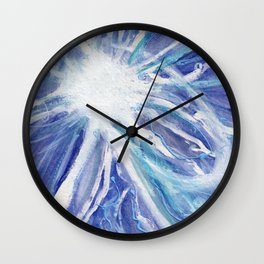 Tribute to Nikola Tesla Wall Clock