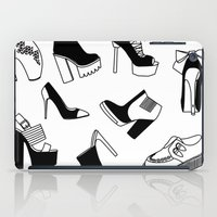 shoe iPad Cases featuring Shoe Cravings by shutupbek