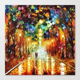 Romantic Starry Night Canvas Print