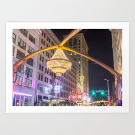 Cleveland Playhouse Chandelier Art Print