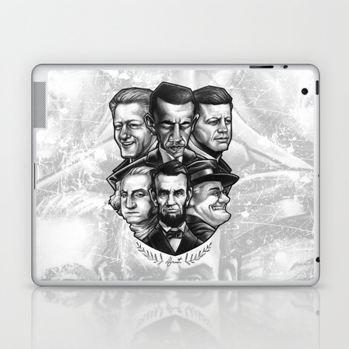 6 PRESIDENTS Laptop & iPad Skin