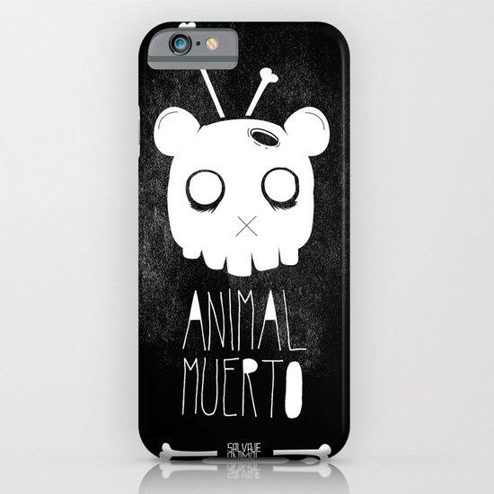 Animal Muerto iPhone & iPod Case