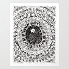 Isolation Blossom 1 Art Print