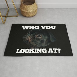 Who You Looking At? Rug