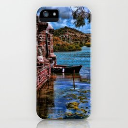 Nelsons Dockyard iPhone Case