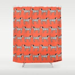 Dalmatians Shower Curtain