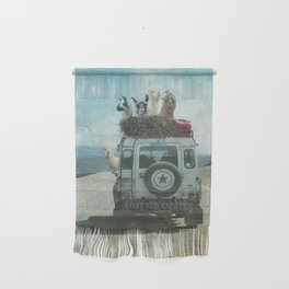 ALPACA WANDERLUST II SUMMER EDITION Wall Hanging