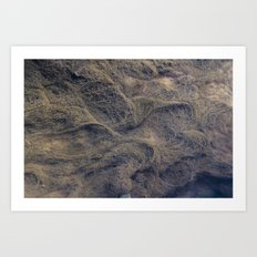 experiment with water patterns, number 1 Art Print