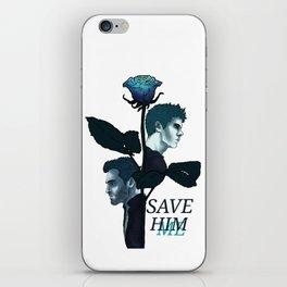 Sterek Save Me Print iPhone Skin
