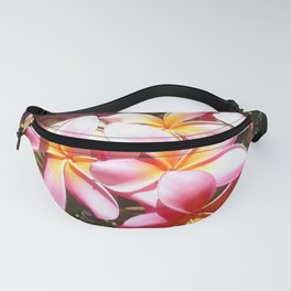 Pink Plumerias Photography Fanny Pack