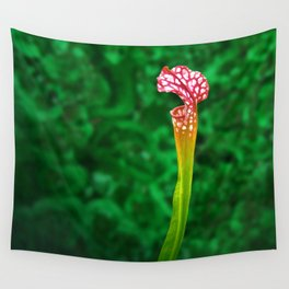 Pitcher Plant Rising Wall Tapestry