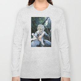 Papua New Guinea Ghost Long Sleeve T-shirt