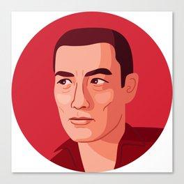 Queer Portrait - Yukio Mishima Canvas Print