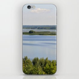 Landscape on the river # 3 iPhone Skin