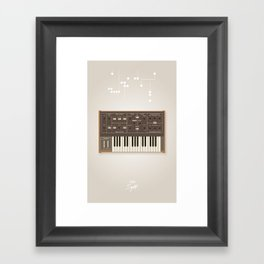 The Synth Project - Moog Prodigy Framed Art Print