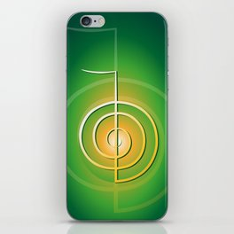 Cho-Ku-Rei - Reiki-Symbol iPhone Skin