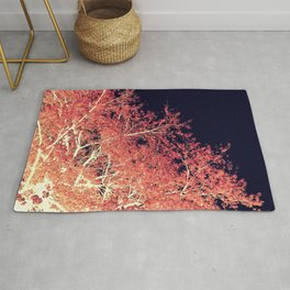 Inverted Tree Dark Night Rug