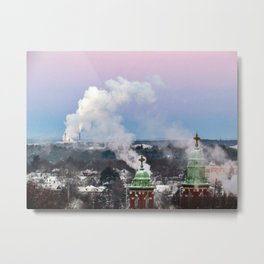 Sub-Zero Sunrise in Portland, Maine (1) Metal Print