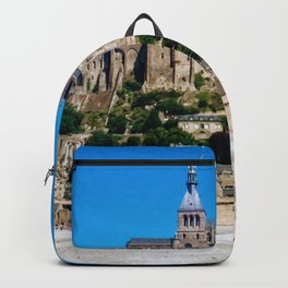 Castle Fortress- Le Mont Saint Michel Backpack