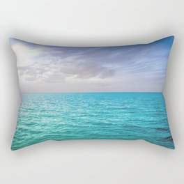 Caribbean Sea Rectangular Pillow