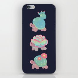 Cactus tortoise iPhone Skin