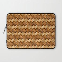 Basket Weave Pattern Laptop Sleeve